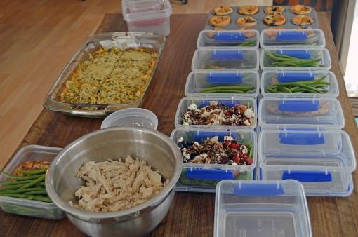 meal prep process