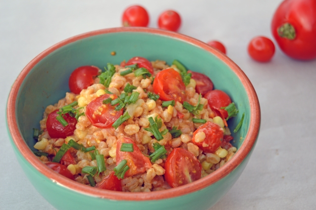 Tomato and Corn Farroto v2