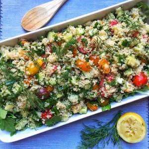 Quinoa Tabbouleg